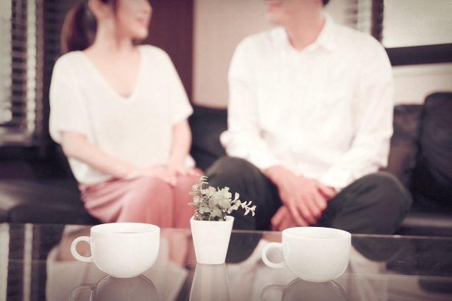 【婚活10歩目】オープンテラスで好みの男性に申し込み、会うことになった。